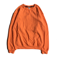FRUIT OF THE LOOM / 7.2oz SOFSPUN CREW NECK (ORANGE SHERBET)