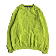 FRUIT OF THE LOOM / 7.2oz SOFSPUN CREW NECK (CITRUS GREEN)