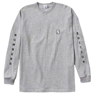 NUMBERS EDITION / VERTICAL STACK PREMIUM L/S TEE