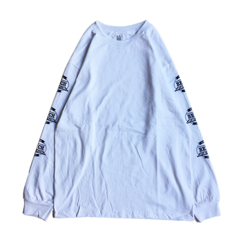 BENCH / LOGO LS TEE (WHITE)