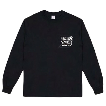 NUMBERS EDITION / BOMBED LOGOTYPE L/S TEE
