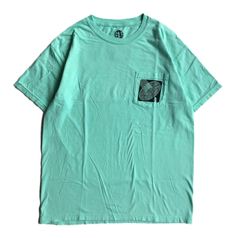 H33M / H33MTEL POCKET TEE (ISLAND BREEZE)