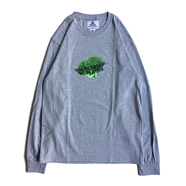 NOTHIN' SPECIAL / BROCCOLI LS TEE (GREY)