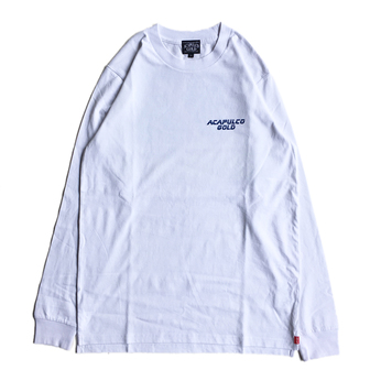 ACAPULCO GOLD / BLADE RUNNER LONG SLEEVE TEE (WHITE)