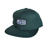 FELT / WORK LOGO HAT (GREEN)