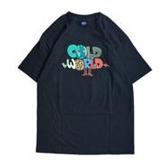 COLD WORLD FROZEN GOODS / CLEOFUS WORLDWIDE TEE (BLACK)