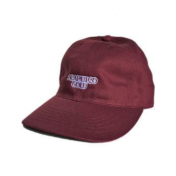 ACAPULCO GOLD / NOODLES 6PANEL CAP (BURGUNDY)