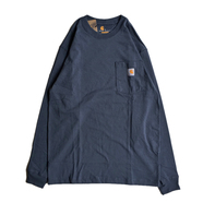 CARHARTT USA / WORKWEAR POCKET LS TEE (BLUE STONE)