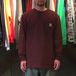 CARHARTT USA / WORKWEAR POCKET LS TEE (PORT HEATHER)