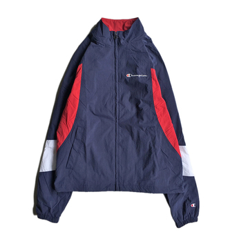 CHAMPION USA / WOVEN JACKET (NAVY)
