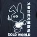 COLD WORLD FROZEN GOODS / COLD BUNNY LOGO TEE (BLACK)