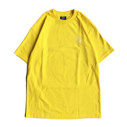 COLD WORLD FROZEN GOODS / COLD BUNNY LOGO TEE (YELLOW)