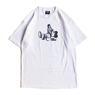 COLD WORLD FROZEN GOODS / LIVE LOVE LAUGH TEE (WHITE)