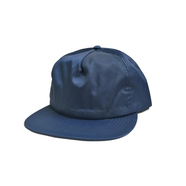 CALI HEADWEAR / NYLON SNAPBACK 5PANEL CAP (NAVY)