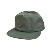 CALI HEADWEAR / NYLON SNAPBACK 5PANEL CAP (OLIVE)