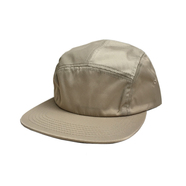 CALI HEADWEAR / NYLON 5PANEL JET CAP (KHAKI)
