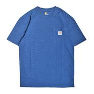CARHARTT USA / WORKWEAR POCKET TEE (BLUE HEATHER)