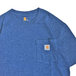 CARHARTT USA / WORKWEAR POCKET TEE (BLUE HEATHER)