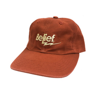 BELIEF / BOLT 6 PANEL CAP (RUST)