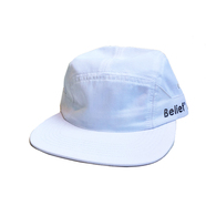BELIEF / SIDELINE 7 PANEL CAP (WHITE)