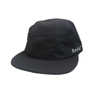 BELIEF / SIDELINE 7 PANEL CAP (BLACK)