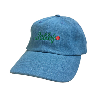 BELIEF / ROSE CAP (DENIM)
