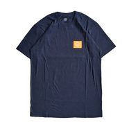 BELIEF / BOX LOGO TEE (NAVY)