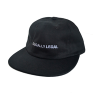 NOTHIN' SPECIAL / ILLEGALLY LEGAL 6-PANEL CAP (BLACK)