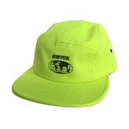 NOTHIN' SPECIAL / BIKE SPIKE 5-PANEL CAMP CAP (Lime Yellow)