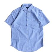 POLO RALPH LAUREN / STRIPE SEERSUCKER SHIRT (BLUE)