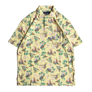 POLO RALPH LAUREN / ALOHA POLO SHIRT (YELLOW)