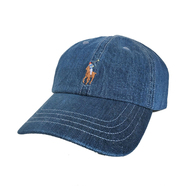 POLO RALPH LAUREN / COTTON CHINO CAP (DENIM)
