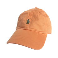 POLO RALPH LAUREN / COTTON CHINO CAP (ORANGE)