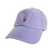 POLO RALPH LAUREN / COTTON OXFORD CAP (LT.PURPLE)