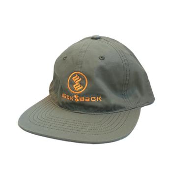 WACK WACK / WAC A FELLA RIPSTOP 6PANEL CAP (OLIVE)