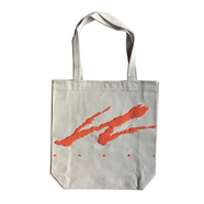 WACK WACK / WAGASSI TOTE BAG (NATURAL)