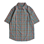 WOOLRICH / CHECK S/S SHIRT (OLIVE)