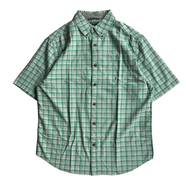 WOOLRICH / CHECK S/S SHIRT (LT.GREEN)