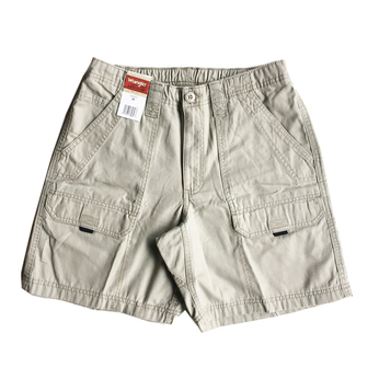 WRANGLER / CANVAS SHORTS (KHAKI)