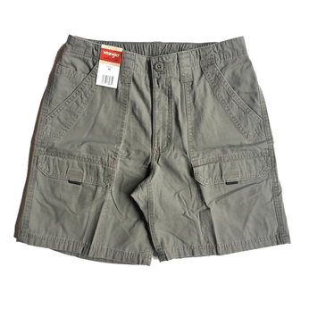 WRANGLER / CANVAS SHORTS (OLIVE)