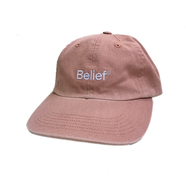 BELIEF / LOGO 6 PANEL CAP (CLAY)