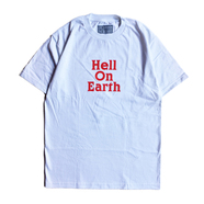 THE DECADES HAT / HELL ON EARTH TEE (WHITE)
