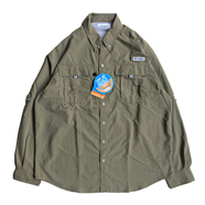 COLUMBIA PFG / FISHING NYLON SHIRT (OLIVE)