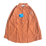 COLUMBIA PFG / FISHING COTTON SHIRT (ORANGE)