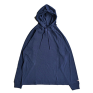 GOODWEAR / HOODED LS TEE (NAVY)