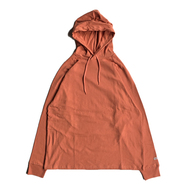 GOODWEAR / HOODED LS TEE (ORANGE)