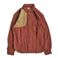 WOOLRICH / FLANNEL SHOOTING L/S SHIRT (RED)