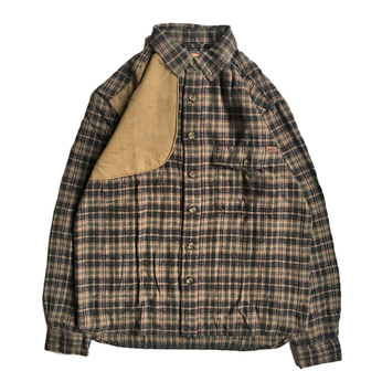WOOLRICH / FLANNEL SHOOTING L/S SHIRT (BROWN)