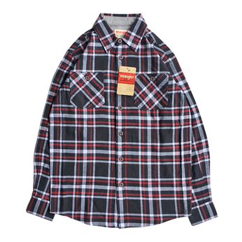 WRANGLER / FLANNEL SHIRT (BLACK)