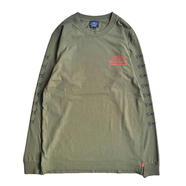 ACAPULCO GOLD / HARD TO EARN LS TEE (OLIVE)